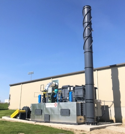 CPI Installs Regenerative Thermal Oxidizer at Fastener Coater