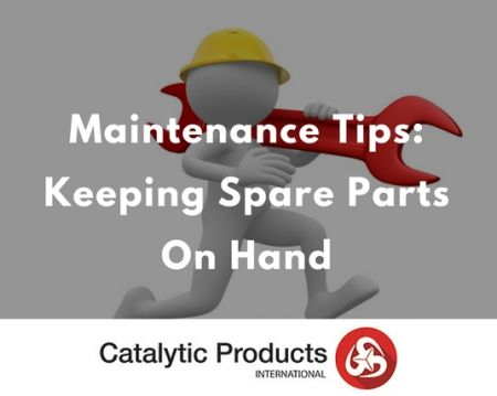 The Importance of Keeping a Spare Parts Inventory On Hand