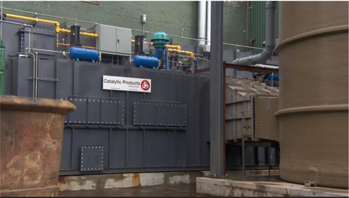 CPI Installs RTO for Auto & Metal Shredder Emission Control