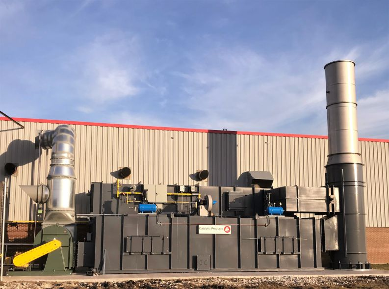 CPI Replaces CatOx with Regenerative Thermal Oxidizer (RTO) at Web Coater